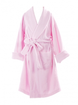 Sweet Pink Towel Bathrobe