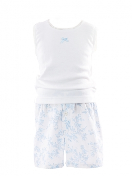 Boxer Blue French